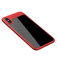 "TPU чехол iPaky Hard Series для Apple iPhone X (5.8"")Красный"