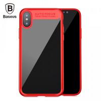 "TPU чехол Baseus Suthin Case для Apple iPhone X (5.8"")Красный"