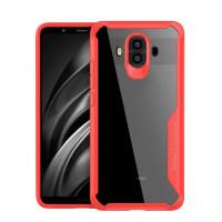 TPU+PC чехол iPaky Luckcool Series для Huawei Mate 10Красный