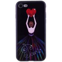 "TPU чехол Magic Girl со стразами для Apple iPhone 7 / 8 (4.7"")"