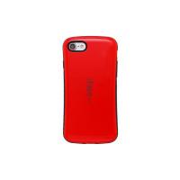 TPU+PC чехол iFace устойчивый к царапинам глянец для Apple iPhone 5/5S/SEКрасный / Черный