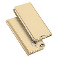 Чехол-книжка Dux Ducis с карманом для визиток для Xiaomi Redmi Note 5A Prime / Redmi Y1Золотой