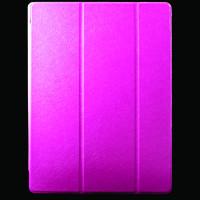 """Кожаный чехол-книжка TTX Elegant Series для Apple iPad Pro 12,9""""Малиновый"""