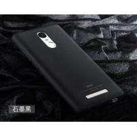 Пластиковый чехол Msvii Quicksand series для Xiaomi Redmi Note 3 / Redmi Note 3 ProЧерный