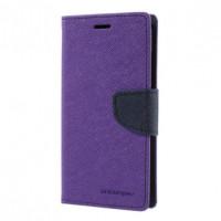 Чехол (книжка) Mercury Fancy Diary series для Xiaomi Mi 6Фиолетовый / Синий