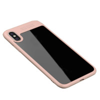 "TPU чехол iPaky Hard Series для Apple iPhone X (5.8"")Розовый"