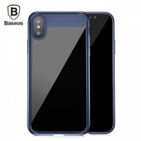 "TPU чехол Baseus Suthin Case для Apple iPhone X (5.8"")Синий"