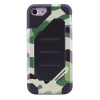 "TPU+PC чехол MOTOMO (Military) для Apple iPhone 6/6s plus (5.5"")Зеленый / Камуфляж"