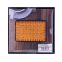 """Портативное зарядное устройство """"ST"""" 12mm в подарочной упаковке (5000mAh 2.1A)Печенье"""