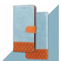 Чехол-книжка Diary c TPU креплением и функцией подставки для Xiaomi Redmi 5 PlusГолубой