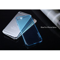 "TPU чехол Nillkin Nature Series для Apple iPhone 6/6s plus (5.5"")Голубой (прозрачный)"