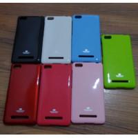 TPU чехол Mercury Jelly Color series для Xiaomi Mi 4i / Mi 4cЧерный