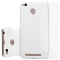 Кожаный чехол (книжка) Nillkin Sparkle Series для Xiaomi Redmi 3 Pro / Redmi 3sБелый