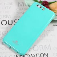 TPU чехол Mercury Jelly Color series для Huawei P10 PlusБирюзовый