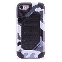 "TPU+PC чехол MOTOMO (Military) для Apple iPhone 6/6s plus (5.5"")Серый / Камуфляж"