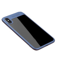 """TPU чехол iPaky Hard Series для Apple iPhone X (5.8"""")Синий"""
