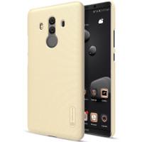 Чехол Nillkin Matte для Huawei Mate 10 Pro (+ пленка)Золотой