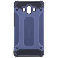 Бронированный противоударный TPU+PC чехол SPIGEN (HC) для Huawei Mate 10Синий