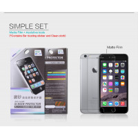 "Защитная пленка Nillkin для Apple iPhone 6/6s plus (5.5"")Матовая"
