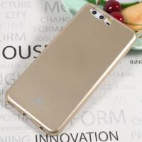 TPU чехол Mercury Jelly Color series для Huawei P10 PlusЗолотой
