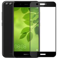 Защитное цветное стекло Mocolo (CP+) на весь экран для Huawei Nova 2Черный