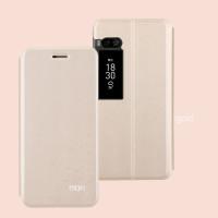 Кожаный чехол (книжка) MOFI Star Series для Meizu Pro 7 PlusЗолотой