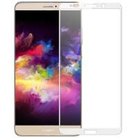 Защитное стекло 2.5D CP+ на весь экран (цветное) для Huawei Mate 10 ProБелый