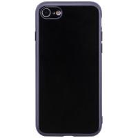 "TPU чехол TSM 0,5mm глянцевый с торцами под кожу для Apple iPhone 6/6s (4.7"")Черный"