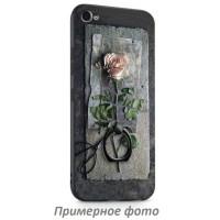TPU чехол тематический с кольцом для Xiaomi Redmi 4XЧерный / Роза