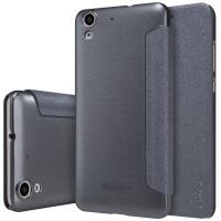 Кожаный чехол (книжка) Nillkin Sparkle Series для Huawei Y6 IIЧерный
