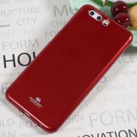 TPU чехол Mercury Jelly Color series для Huawei P10 PlusКрасный