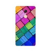 TPU чехол Rucover для Xiaomi Redmi Note 4X / Note 4 (SD)Цветные кубики