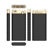 Портативное зарядное устройство Mezone X10 (10000mAh 2USB FastCharge 3.4А) (+кабель MicroUSB)Черный / Золотой