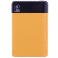 Портативное зарядное устройство Mezone Z6 Slim 14mm (6000mAh 2USB 2.4A) (+кабель MicroUSB)Оранжевый / Черный