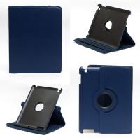 Чехол для Apple iPad 2, iPad 3 (New iPad), iPad 4 SWIVEL DARK BLUE синий с поворотным механизмом