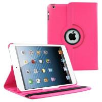 Чехол TTX 360 для Apple iPad 2, iPad 3 (New iPad), iPad 4 SWIVEL ROSE RED темно-розовый с поворотным механизмом