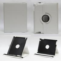 Чехол для Apple iPad 2, iPad 3 (New iPad), iPad 4 SWIVEL WHITE белый с поворотным механизмом