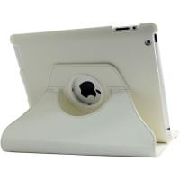 Чехол TTX для Apple iPad 2, iPad 3 (New iPad), iPad 4 SWIVEL WHITE белый с поворотным механизмом