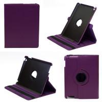 Чехол для Apple iPad 2, iPad 3 (New iPad), iPad 4 SWIVEL PURPLE фиолетовый с поворотным механизмом