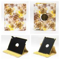 Чехол для Apple iPad 2, iPad 3 (New iPad), iPad 4 SPRING FLOWERS SWIVEL YELLOW весенние цветы желтые с поворотным механизмом