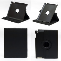 Чехол для Apple iPad 2, iPad 3 (New iPad), iPad 4 SWIVEL BLACK черный с поворотным механизмом