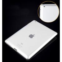 Чехол-накладка силиконовый прозрачный для планшета Apple iPad 2, iPad 3 (New iPad), iPad 4 BUMPER BLACK