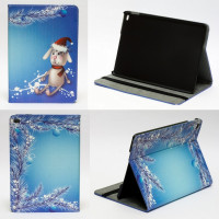 Чехол для Apple iPad Air 2 (iPad 6) (мод. A1566, A1567) CHRISTMASS RABBIT, новогодний заяц