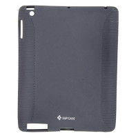 Чехол-накладка силиконовый черный для планшета Apple iPad Air BUMPER BLACK