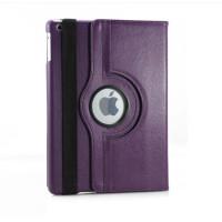 Чехол TTX для Apple iPad Air (iPad 5) (мод. A1474, A1475) SWIVEL PURPLE Цвет: ФИОЛЕТОВЫЙ с поворотным механизмом