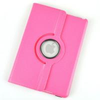 Чехол TTX для Apple iPad Air (iPad 5) (мод. A1474, A1475) SWIVEL PINK Цвет: РОЗОВЫЙ с поворотным механизмом
