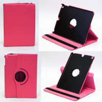 Чехол для Apple iPad Air (iPad 5) (мод. A1474, A1475) TTX360 SWIVEL ROSE RED ярко-розовый с поворотным механизмом