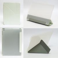 Чехол для Apple iPad Air (iPad 5) (мод. A1474, A1475) CLEAR WHITE, белый прозрачный