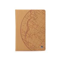 Чехол для Apple iPad Air (iPad 5) (мод. A1474, A1475) ROCK Impres Series PINK Цвет: коричневый
