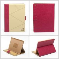 Чехол для Apple iPad Air (iPad 5) (мод. A1474, A1475) RICH BOSS BEIGE, Цвет: бежевый с розовым